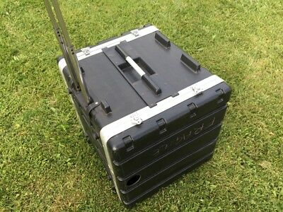Swamp 10RU Rack Case with Wheels  - Will Ship