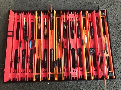Job Lot of Coarse Fishing Tackle - Pole Fishing Rigs & Floats Various Types