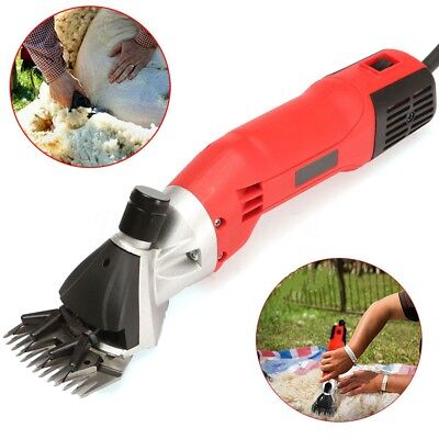 500W Electric Sheep Shearing Clipper Shear Goats Alpaca Supplies Farm Shears