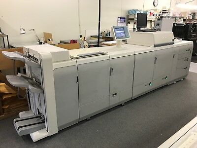 Canon ImagePRESS C7000 VP with booklet maker and A3100 Server - Low Meter