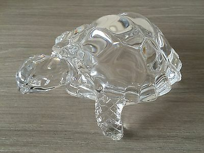 Large Glass Turtle 18 cms