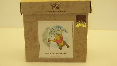 Hallmark Limited Edition Winnie The Pooh & The Honey Tree Shadow Box~Nib
