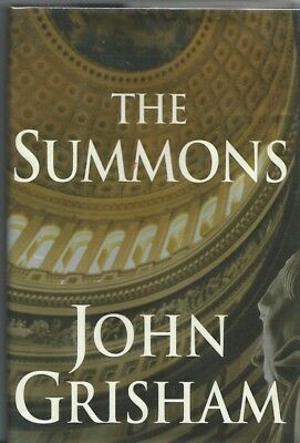 """JOHN GRISHAM - His Book """"The Summons"""", Signed  1st Edition"""