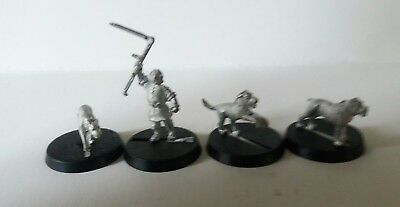 games workshop  Lord of the Rings metal farmer maggot and hounds