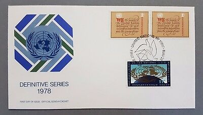 Ganzsache - United Nations New York First Day Cover 1978  - ab 1€