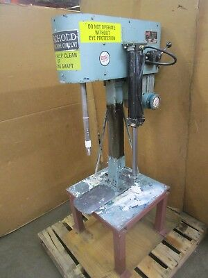 Schold 3Hp Variable Speed Cowles Mixer W/ Pneumatic Lift 230/460V 3Ph