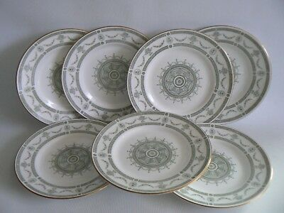 CROWN Staffordshire Apollo China Side Plates X 7 Size 6.1/4 inches