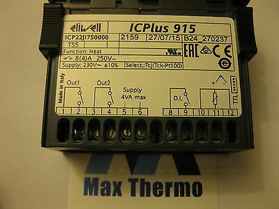 DIGITAL THERMOSTAT ELIWELL type ICPlus915