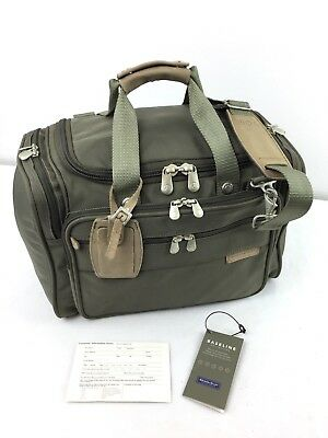 BRIGGS & RILEY BASELINE Deluxe Travel Tote Duffel Carry-On Bag Luggage Nr MINT!