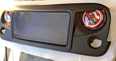 Angry Mesh Grill Superb Quality Stunning to fit Jeep Wrangler Jk 2006 - 2018