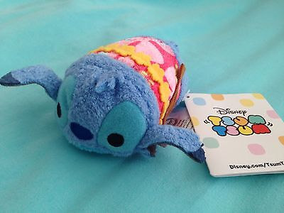HAWAII EXCLUSIVE ALOHA STITCH Mini Tsum Tsum Disney Store Authentic HTF IN HAND