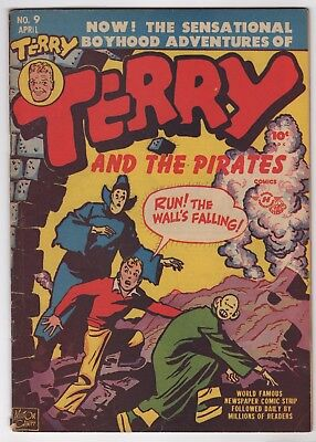 Terry and the Pirates  #9  (Harvey 1948)  VG/FN