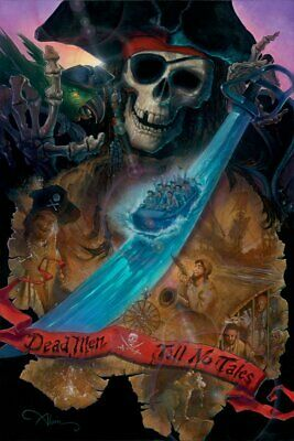 """""""Dead Men Tell No Tales"""" by John Alvin inspired by Pirates of the Caribbean"""