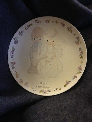 Precious moments collector plate porcelain rare home decor collectable gifts