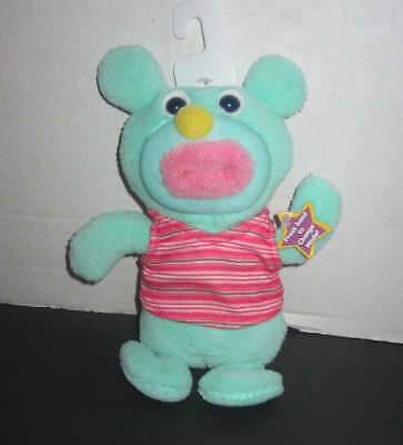 2010 Fisher price Sing A Ma Jig Mint Green singing it's raining it's pouring plu