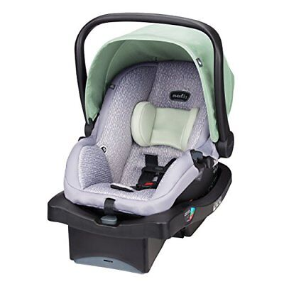 New Evenflo Unisex LiteMax 35 Infant Car Seat, With Convenience Base Fast Shippi