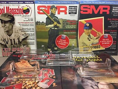 PSA Sports Acrylic Stand For Graded Card Display 5 PACK NEW !