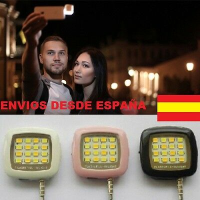 Flash Luz Led Para Fotos Selfie Movil Smartphone,tablet,android,iphone,nuevo