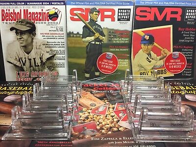 PSA Sports Acrylic Stand For Graded Card Display 10 PACK NEW !