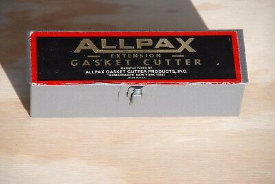 Allpax Adjustable Extension Gasket Cutter Tools - may be NIB - Free Shipping