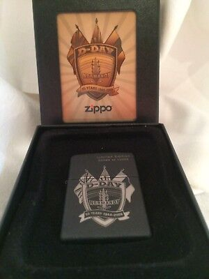 "Briquet Zippo ""D-DAY Normandy 65 years 1944-2009"" édition limitée"