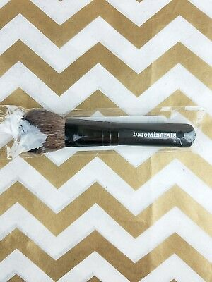 NEW Bare Minerals Makeup Mini Flawless Application Face Brush Cosmetics Sealed