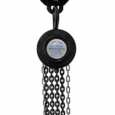 Titan 2 Ton Capacity 8' Manual Chain Hoist