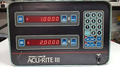 AcuRite lll DRO 2 axis