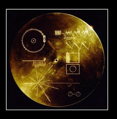 The Golden Record. Greetings and Sounds of the Earth Nasa Voyager Golden Record.