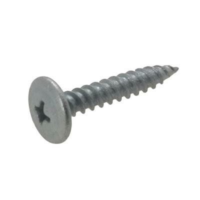 Galvanised Button Head Phillips Needle Point Stitching Screw Timber Class 3 Galv