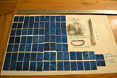 Solar Solette diy kit -Cells, Flux Pen, Bus Bar, Tab wire, solder diode 5W & 10W