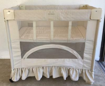 Arms Reach Co-Sleeper Bassinet The Mini Complete With Manual Euc