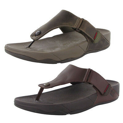 065e0b08cb9c FITFLOP MENS TRAKK II Leather Flip Flop Sandal Shoes -  49.99