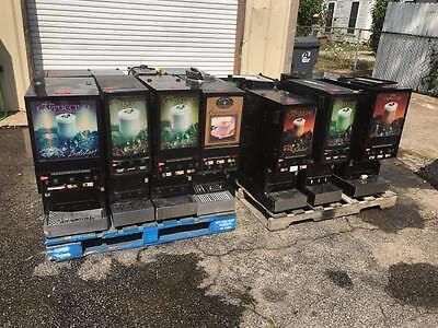 USED Cecilware Coffee Cappuccino Hot Chocolate Vending Machines Lot of 11