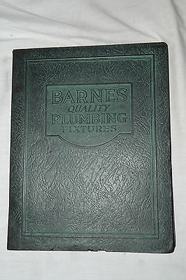 1930 BARNES MANUFACTURING CO. Mansfield, Ohio  Plumbing, Heating