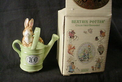 SCHMID BEATRIX POTTER 100 YEARS OF PETER RABBIT  Christmas Ornament
