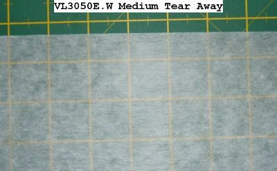 VILENE Medium Tearaway Stabiliser 330mm Wide, Per Metre, Embroidery Stabilizer