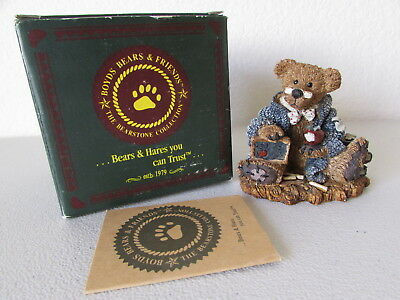 Boyds Bears Bearstone Collection Wilson The Perfesser