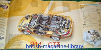 2003 Porshce 996 911 GT3 - Fold Out Technical Cutaway Drawing