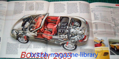 2003 Porshce Boxster 986 2.7 / 3.2 - Technical Cutaway Drawing