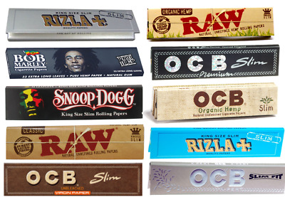 Rizla Raw Snoop Dogg Bob Marley Rolling Papers Christmas Gift Set Smoking Kits