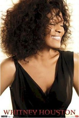 WHITNEY HOUSTON ~ SMILE PORTRAIT 22x34  POSTER Music NEW/ROLLED!