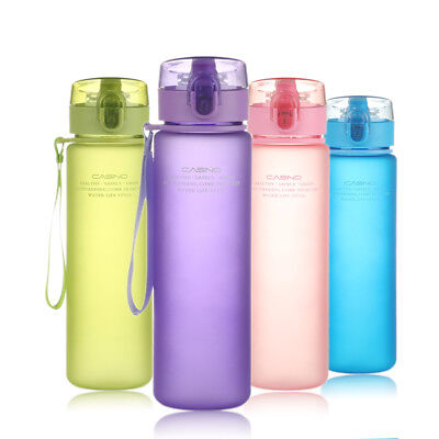 Water Bottle 560ML Tour Outdoor Sport School Leak Proof Cycling travel protable