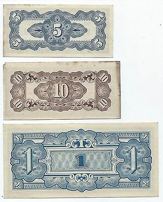 Old Money Philippines WW11 Centavos Five Ten One Shilling Japanese Occupied