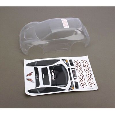 Traxxas 7311 Clear Fiesta Rally Body +Decals: 1/16 Rally VXL