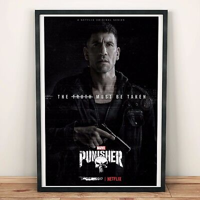 THE PUNISHER Poster Art Print A2 A3 A4