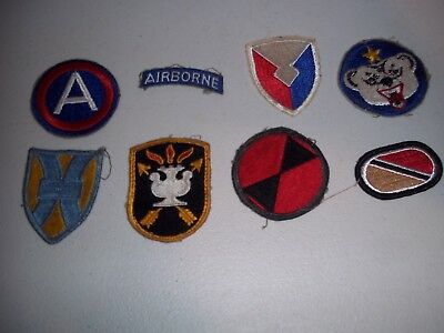 Wwi Wwii Korean War Vietnam Us Army Patch Lot #142