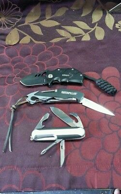 3 x used knives for sale.