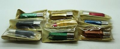Lot of 9 New Vintage Lead Pointer Pencil Sharpener Alvin 5555 Germany Drafting