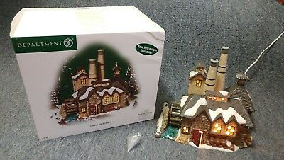 Department 56 Dickens Village London Gin Distillery Lighted Building 5658746 New